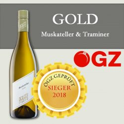 ÖGZ-GOLD Muskateller 2017