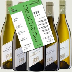 5 x top scores for our white wines